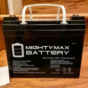 Mighty Max Battery 12V 35AH SLA Toro Time Cutter